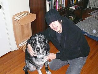 2008 - January - AJ & Sarge